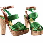 Sandalias con tacón H&M de verano 2011