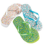Chanclas mujer Carrefour 2011 2012