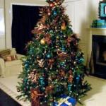 Decorar el árbol de navidad en Alcampo
