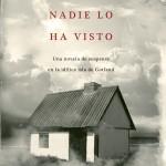 Opinión sobre el libro Nadie lo ha visto de Mari Jungstedt