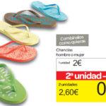 Chanclas Carrefour 2013 2014